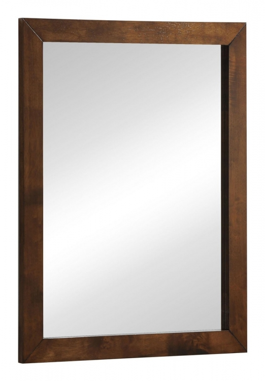 LA Mirror - Walnut