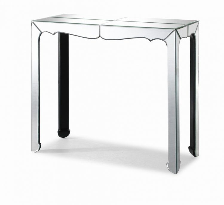 Vive Console Table - Clear - Zuo Modern