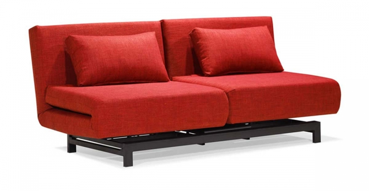 Swing Lounge Sofa Bed - Red