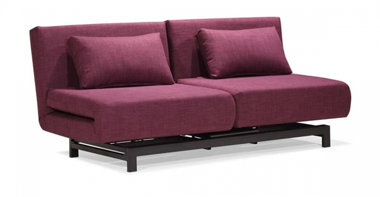 Swing Lounge Sofa Bed - Purple - Zuo Modern