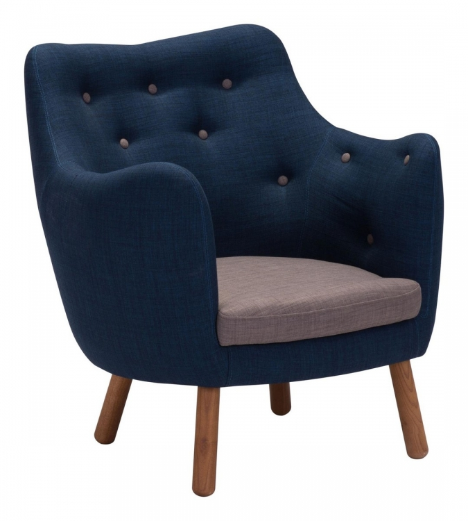 Liege Chair - Cobalt Blue