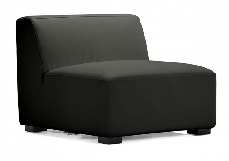 Portrait Sofa Middle - Black - Zuo Modern