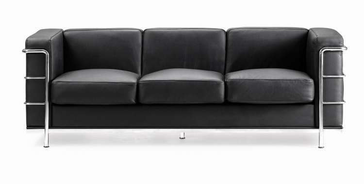 Fortress Sofa - Black - Zuo Modern