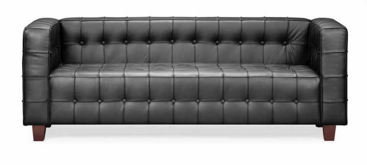 Button Sofa - Black - Zuo Modern