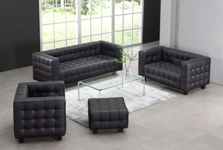 Button Living Room Set - Zuo Modern