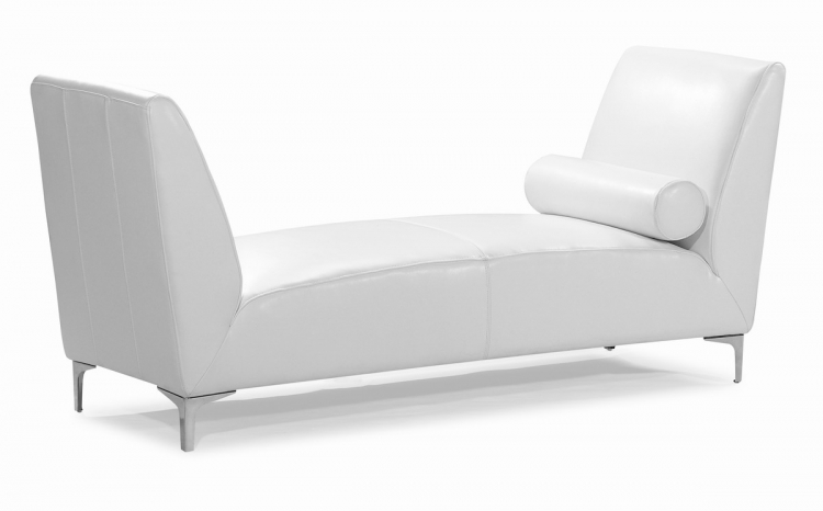Atlas Bench - White - Zuo Modern