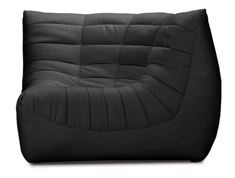 Carnival Corner Chair - Black