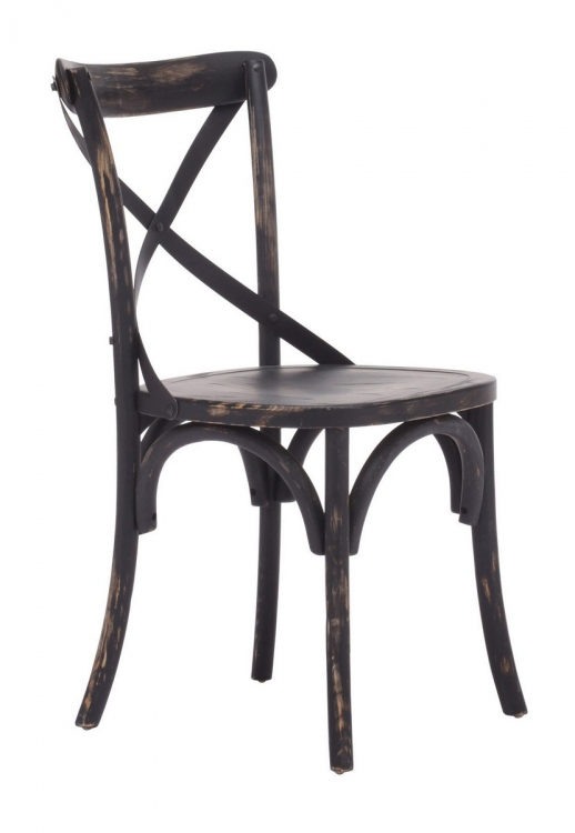 Union Square Dining Chair - Antique Black