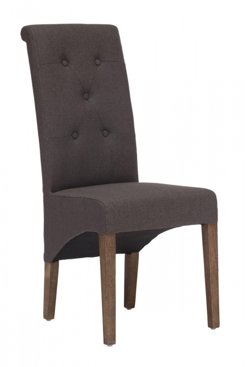 Hayes Valley Dining Chair - Charcoal Gray
