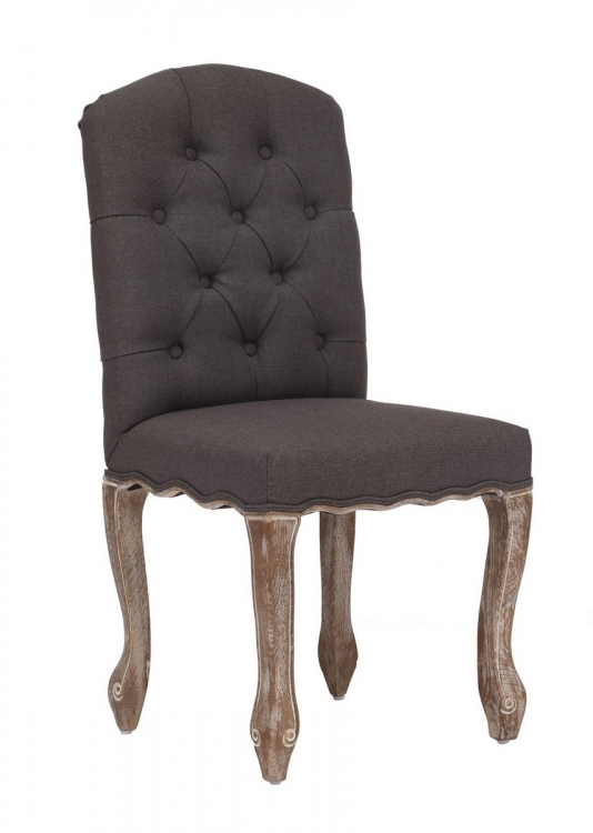 Noe Valley Dining Chair - Charcoal Gray