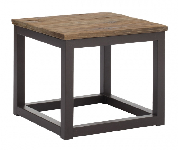 Civic Center Side Table - Distressed Natural