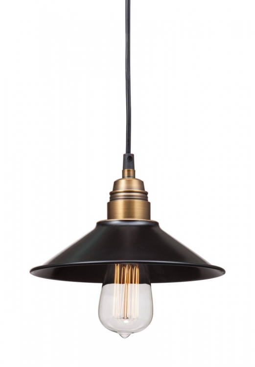 Amarillite Ceiling Lamp - Black/Copper
