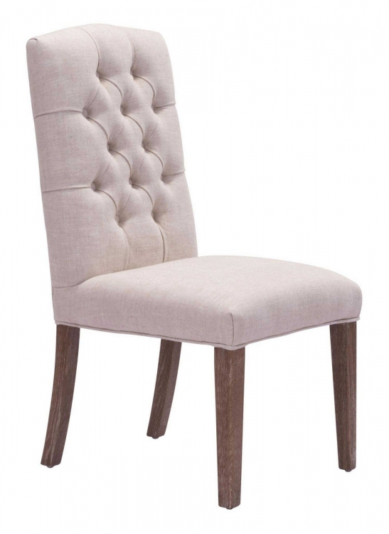 Gough Dining Chair - Beige