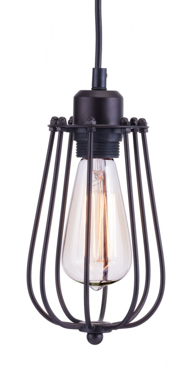 Napier Ceiling Lamp - Distressed Black