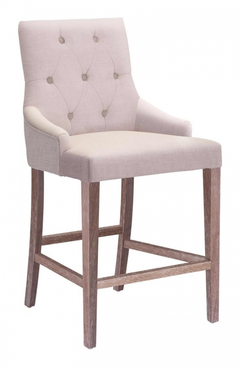 Burbank Counter Chair - Beige