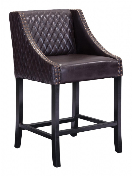 Santa Ana Counter Chair - Brown