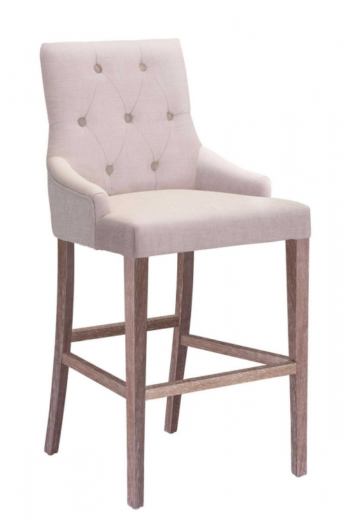 Burbank Bar Chair - Beige