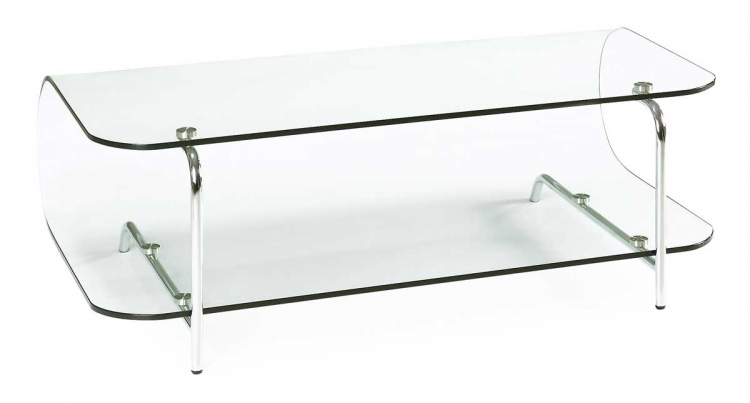 Lujuria Entertainment Stand - Clear - Zuo Modern
