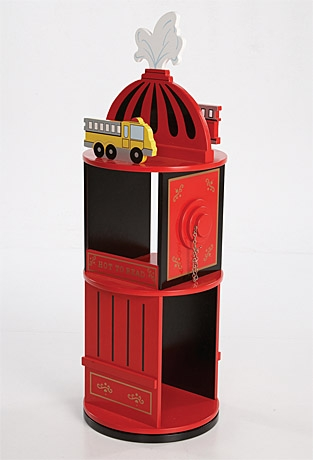 Firefighter Revolving Bookcase