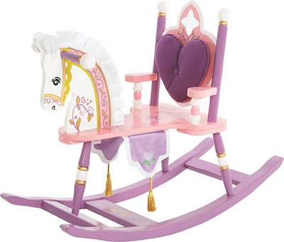 Princess Rocking Horse-Levels of Discovery