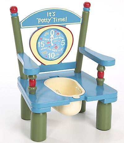 It's inPottyin Time Wooden Potty Training Chair-Levels of Discov