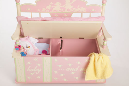 Levels of Discovery Rock-A-My-Baby Toy box Bench