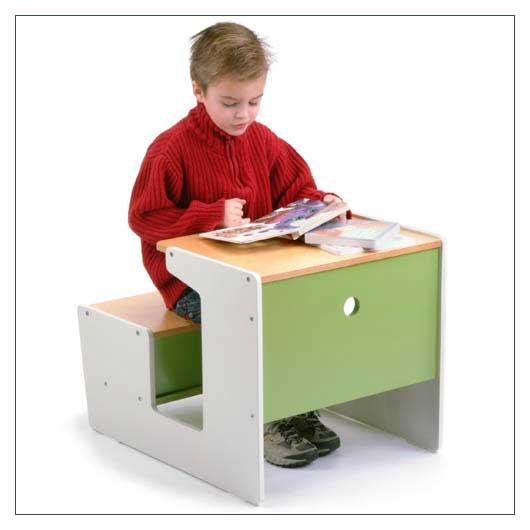 Cheap offi Sled Desk – Green