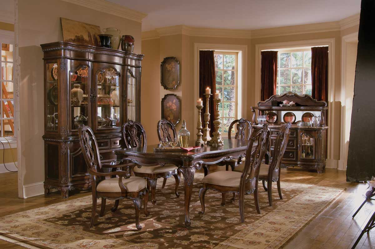 Pulaski st raphael dining collection pf d642240 at - Pulaski dining room ...