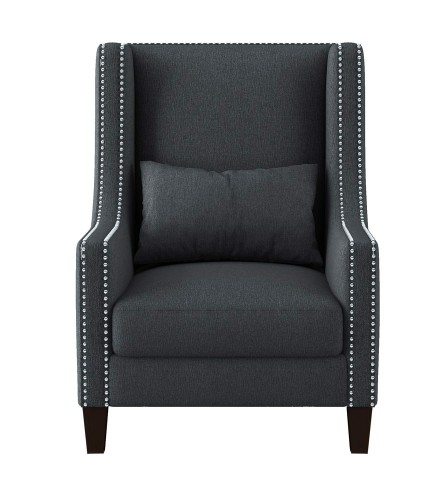 Keller Accent Chair - Dark gray