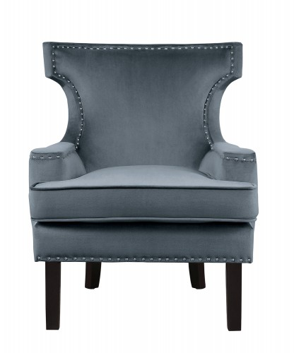 Homelegance Lapis Accent Chair - Gray