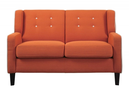 Roweena Love Seat - Orange