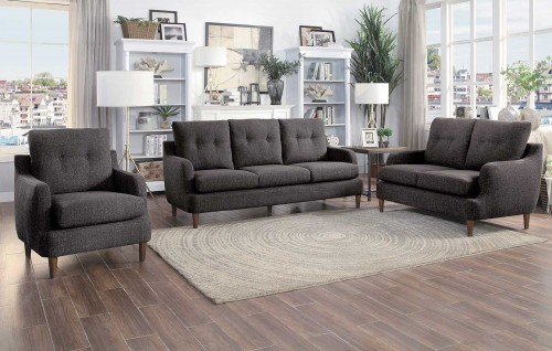 Homelegance Cagle Sofa Set - Chocolate