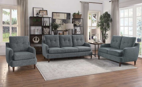 Homelegance Cagle Sofa Set - Gray