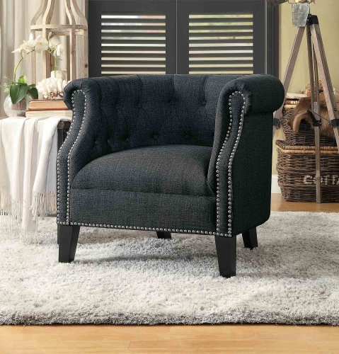 Karlock Accent Chair - Gray