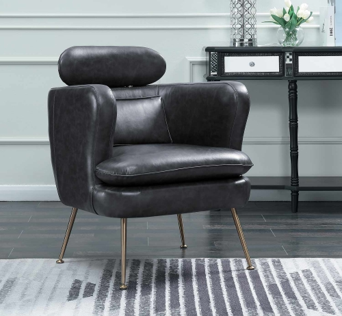 Orbit Accent Chair - Dark Gray