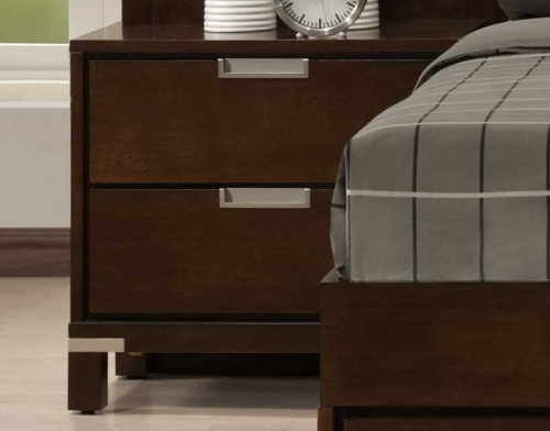 PNC Bella Wall Bed Night Stand Warm 1424