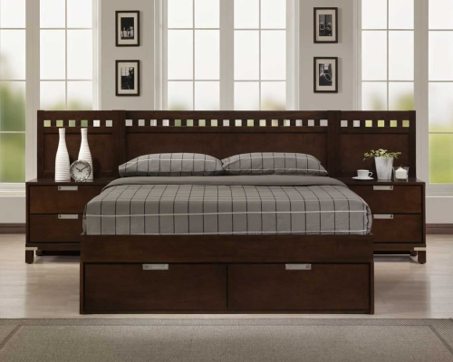 BPNC Bella Platform Bedroom Collection Warm 1173