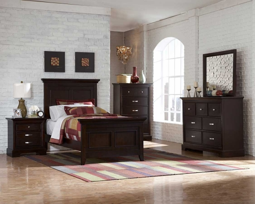 Glamour Brown Bedroom Collection