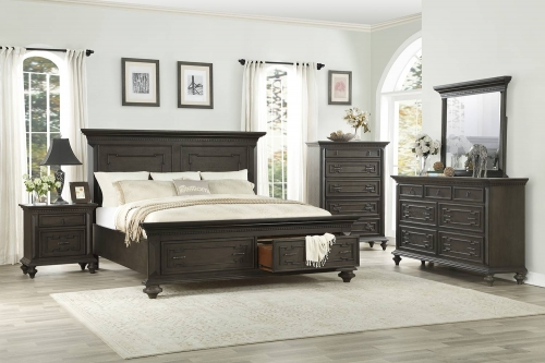 Hillridge Platform Bedroom Set