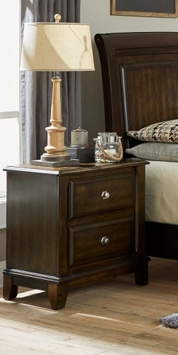 Homelegance Fostoria Night Stand - Cherry