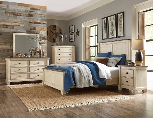 Weaver Bedroom Set - Antique White