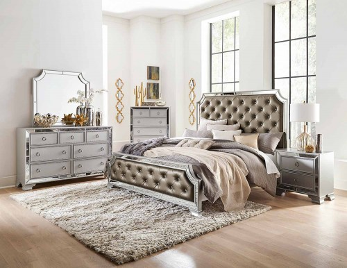 Avondale Bedroom Set - Silver
