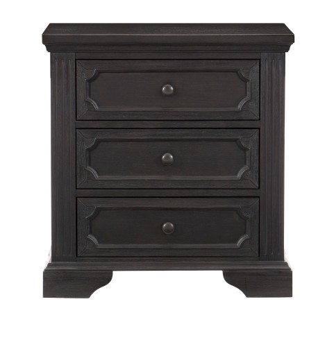 Bolingbrook Night Stand - Charcoal