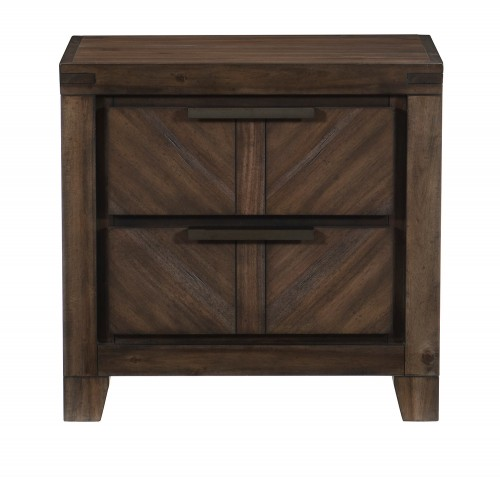 Parnell Night Stand - Rustic Cherry