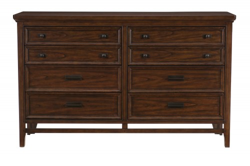 Homelegance Frazier Park Dresser - Brown Cherry