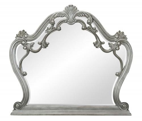 Brigette Mirror - Silver-Gray