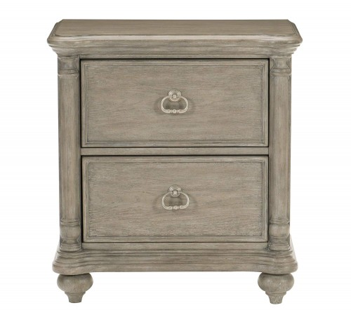 Grayling Downs Night Stand - Driftwood Gray