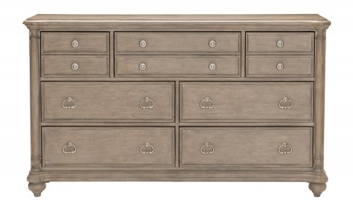 Grayling Downs Dresser - Driftwood Gray