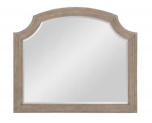 Grayling Downs Mirror - Driftwood Gray
