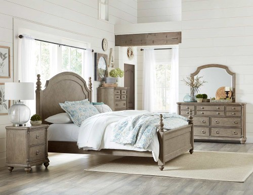 Grayling Downs Bedroom Set - Driftwood Gray